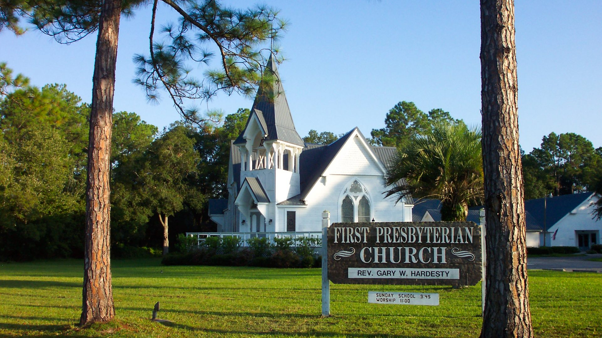 Additions to First Presbyterian Church, Starke, Fla.