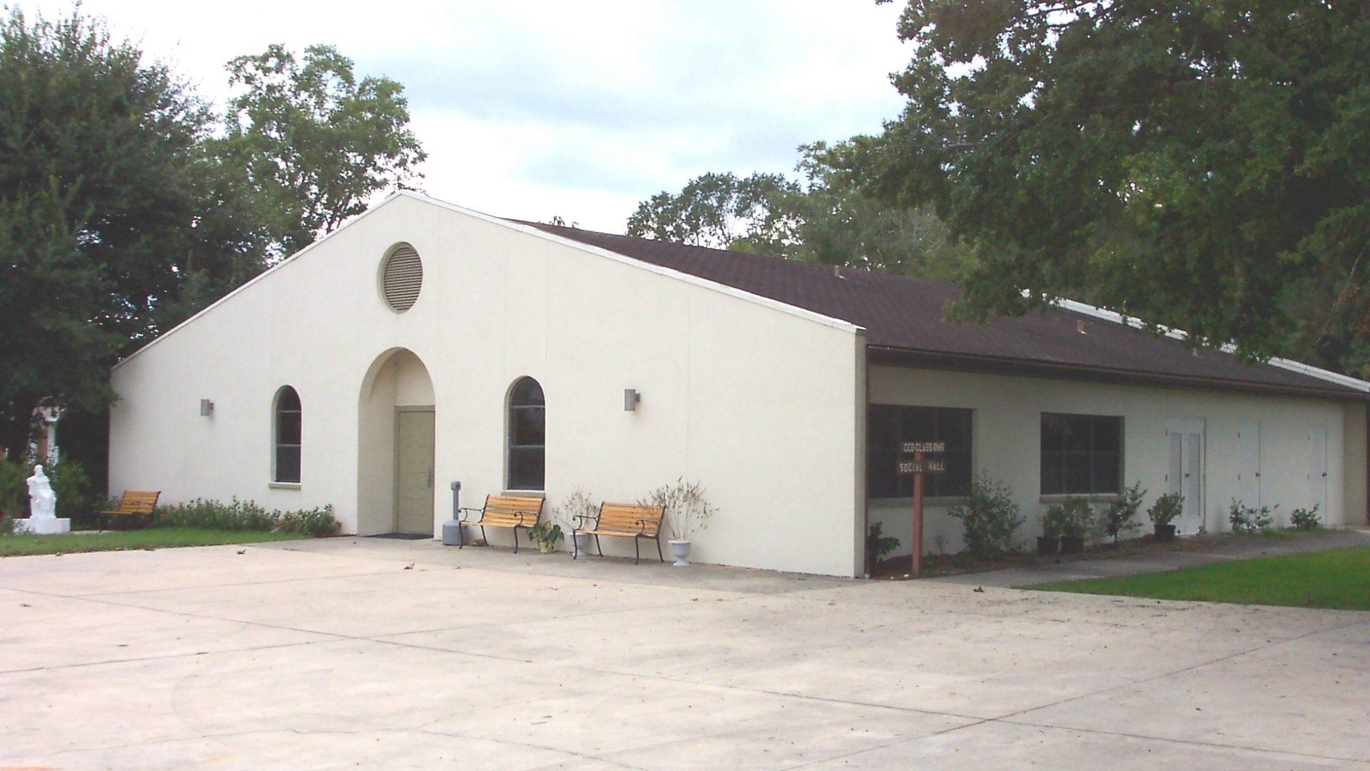 St Edwards Catholic Church Fellowship Hall, Starke, Fla.