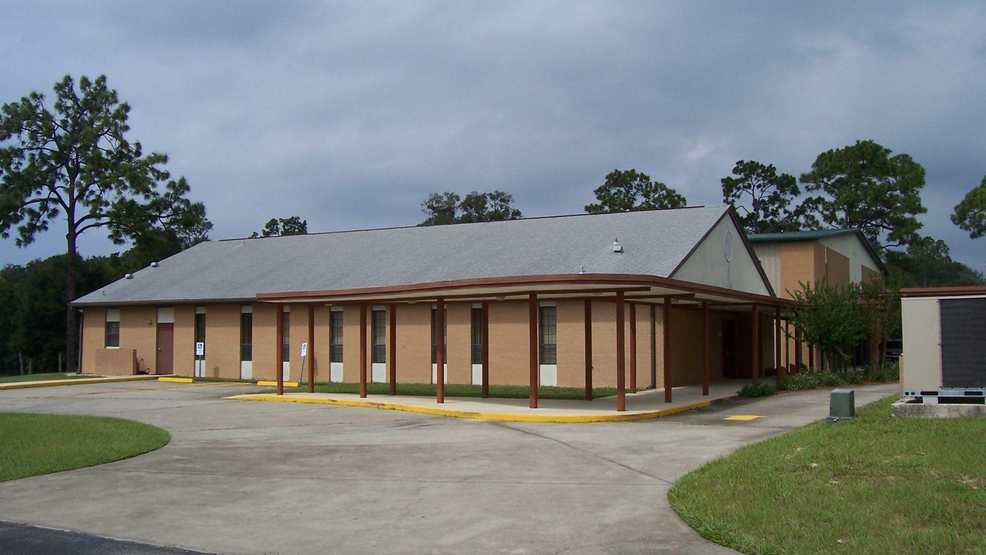 new fellowship hall, first baptist church, Keystone Hts., fla 2